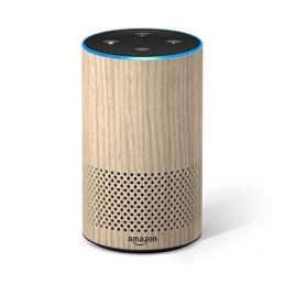 Amazon Echo (2nd Generation) with improved sound Oak