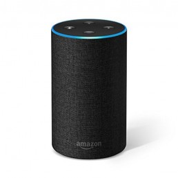 Amazon Echo (2nd Generation) with improved sound Charcoal Fabric