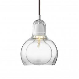 &tr-200494-zwt &tradition Mega Bulb Hanglamp Transparant Snoer (Zwart)