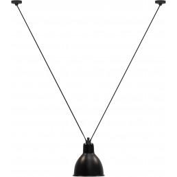 dcw-n323-xl-bl-round DCW éditions Les Acrobates de Gras N323 XL hanglamp zwart