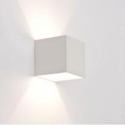 Showroommodel Design wandlamp vierkant wit