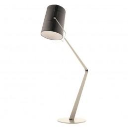 die-LI043225E Diesel Fork vloerlamp grijs kap ivoor onderstel