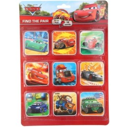 Disney Cars Memory Find a pair