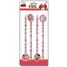 Disney Minnie Mouse potloden met gum