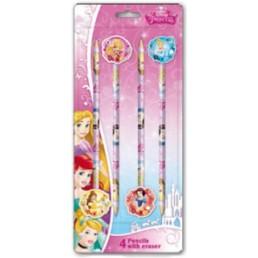 Disney Princess potloden met gum