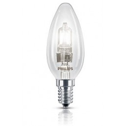 Halogeen kaarslamp E14 18W (25W) EcoClassic Philips