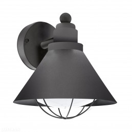 94805 Eglo Barrosela zwart wandlamp