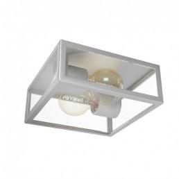 94828 Eglo Alamonte zilver wandlamp en plafondlamp