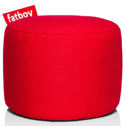 fat-90001702-rod Fatboy Point Stonewashed poef rood