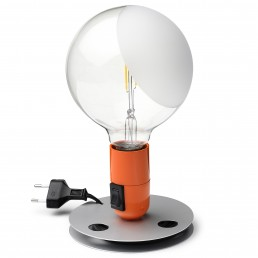 flo-F3300075-orj Flos Lampadina tafellamp oranje