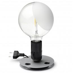 flo-F3300000-zwt Flos Lampadina tafellamp LED zwart