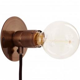 frm-FR-2130 Frama E27 wandlamp brons