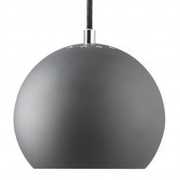 fra-1115-13600105 Frandsen Ball hanglamp mat grijs