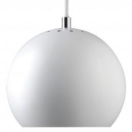 fra-1115-0600106 Frandsen Ball hanglamp mat wit