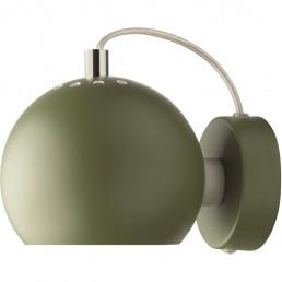 fra-4750-127011 Frandsen Ball Wandlamp LED Mat (Donkergroen)
