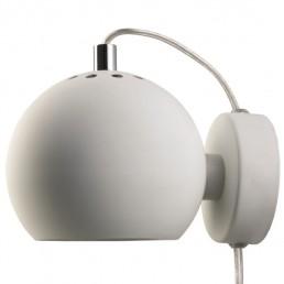 fra-4750-06011 Frandsen Ball wandlamp LED mat wit