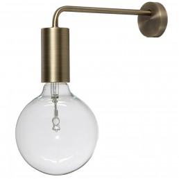 fra-4043-184011 Frandsen Cool wandlamp messing