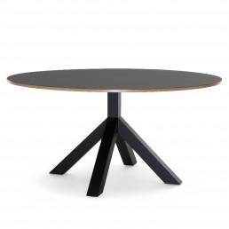 ngi-GC-DU140BK Gispen Dukdalf tafel 140 zwart