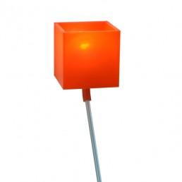 goo-LL4009-orj-zlr Goods Lazy vloerlamp oranje met aluminium poot