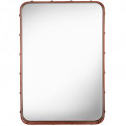 gub-61550-00 Gubi Adnet Rectangulaire spiegel S bruin