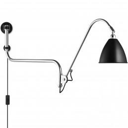 gub-001-10101 Gubi Bestlite BL10 wandlamp zwart/chroom