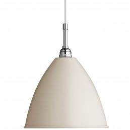 gub-001-09130 Gubi Bestlite BL9 hanglamp M off white/chroom