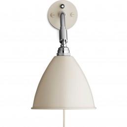 gub-001-07100 Gubi Sale - Bestlite BL7 wandlamp offwhite/chroom met stekker