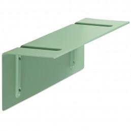 hay-400001-2509000 Hay Bracket Incl. Shelf wandplank small groen