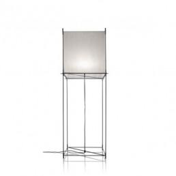hol-lotek-classic-vloerlamp-frame-metaal-wit Hollands Licht Lotek Classic Vloerlamp Frame Metaal Doek (Wit)