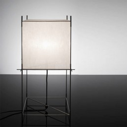 hol-lotex-xs-tafellamp-frame-zwart-wit Hollands Licht Lotek Xs Bureaulamp Frame Zwart Doek (Wit)