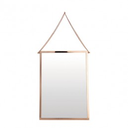 hou-bolina-fm0155-spiegel-brs-vierkant House Doctor Bolina Spiegel Vierkant (Koper)