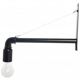 hou-pipe-cb0205b-wandlamp-zwt House Doctor Pipe Wandlamp (Zwart)