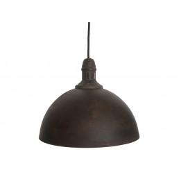 Leitmotiv LM1308 Rustic dome iron zwart hanglamp