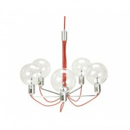Aanbieding Leitmotiv LM581 Red Connection hanglamp