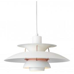 lou-5741095007 Louis Poulsen PH 5 hanglamp white/ pale rose