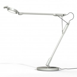 luc-bun-1D830=000004 Luceplan Tivedo bureaulamp LED lichtgrijs