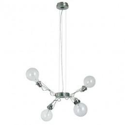 lum-386-44 Lumina Matrix Quattro hanglamp nikkel