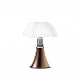 mrt-620-J-T-CU Martinelli Luce Mini Pipistrello tafellamp LED met touchbediening koper