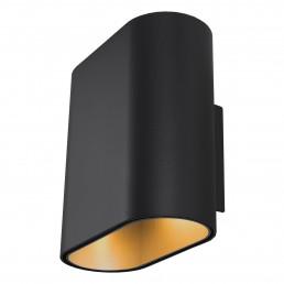 mod-11070632 Modular Duell wandlamp zwart