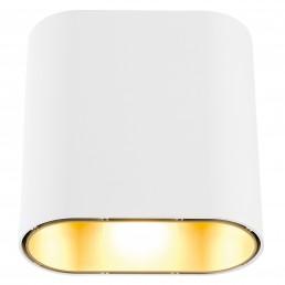 mod-11070609 Modular Duell wandlamp wit