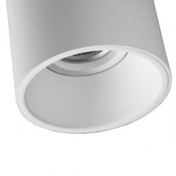 mod-10883009 Modular Lotis Tubed plafondlamp wit witte binnenkant