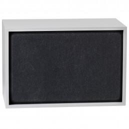 muu-83504 Muuto Stacked kast Acoustic Panel large black melange