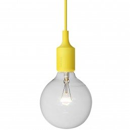 muu-5164-gel Muuto E27 hanglamp geel
