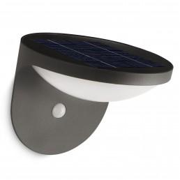 phi-dusk-zonnecel-beweging Philips Dusk wandlamp met zonnecel en bewegingssensor