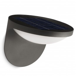 phi-dusk-zonnecel Philips Dusk wandlamp met zonnecel