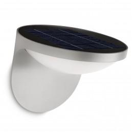phi-178078716 Philips Dusk wandlamp grijs met zonnecel
