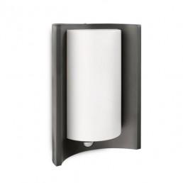 Philips Meander 164059316 antraciet  sensor Ecomoods Outdoor wandlamp