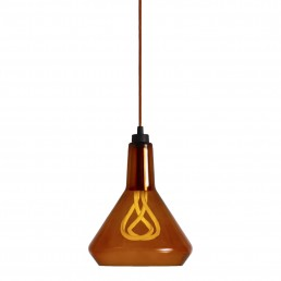 Aanbieding 1009012301  Plumen Drop Top set hanglamp Amber