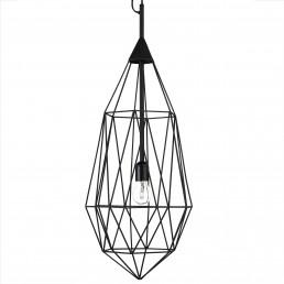 pol-300-450-021-zwt Pols Potten Diamond hanglamp large zwart