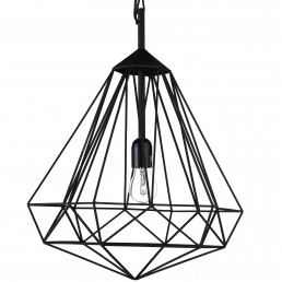 pol-300-450-020-zwt Pols Potten Diamond hanglamp medium zwart